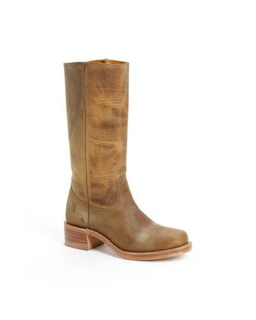 Frye - Brown 'campus 14l' Boot - Lyst