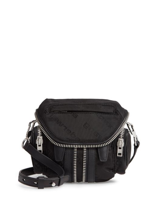 Alexander Wang - Black Micro Marti Nylon Crossbody Bag - Lyst