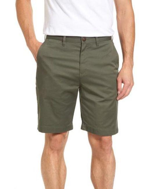 Billabong | Green Carter Stretch Twill Shorts for Men | Lyst