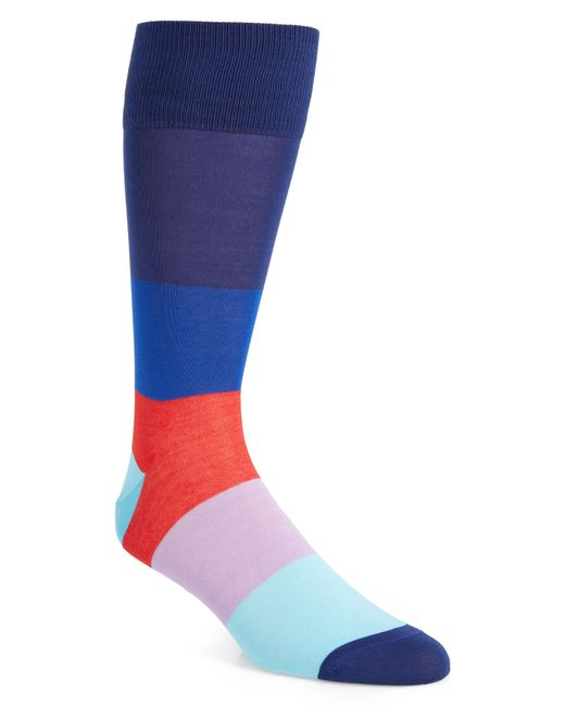 Calibrate - Multicolor Blocked Ombre Socks for Men - Lyst