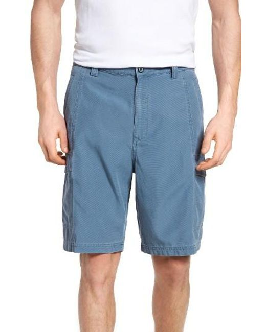 Tommy Bahama   Green 'key Grip' Relaxed Fit Cargo Shorts for Men   Lyst