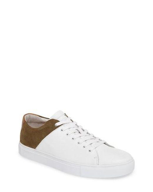 Blackstone | White Nm03 Two-tone Sneaker for Men | Lyst