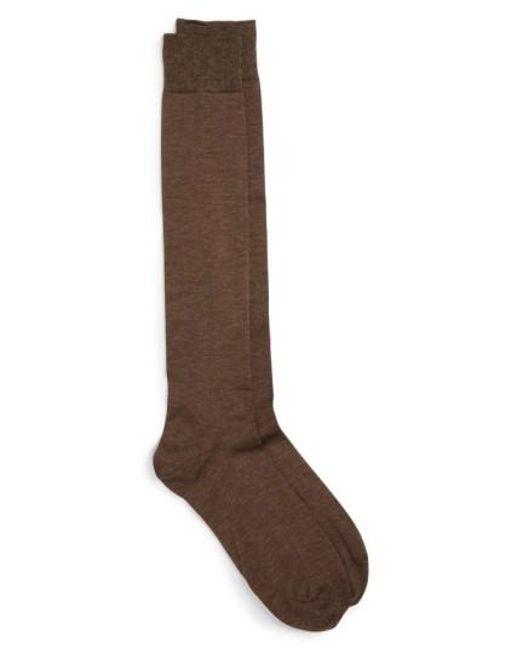 John W. Nordstrom | Blue John W. Nordstrom Over The Calf Egyptian Cotton Blend Socks for Men | Lyst