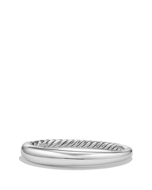 David Yurman - Metallic 'pure Form' Small Sterling Silver Bracelet - Lyst
