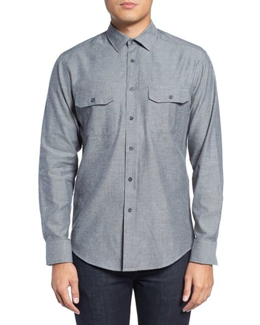 Vince Camuto | Gray 'dell Aria Air' Trim Fit Jacket for Men | Lyst