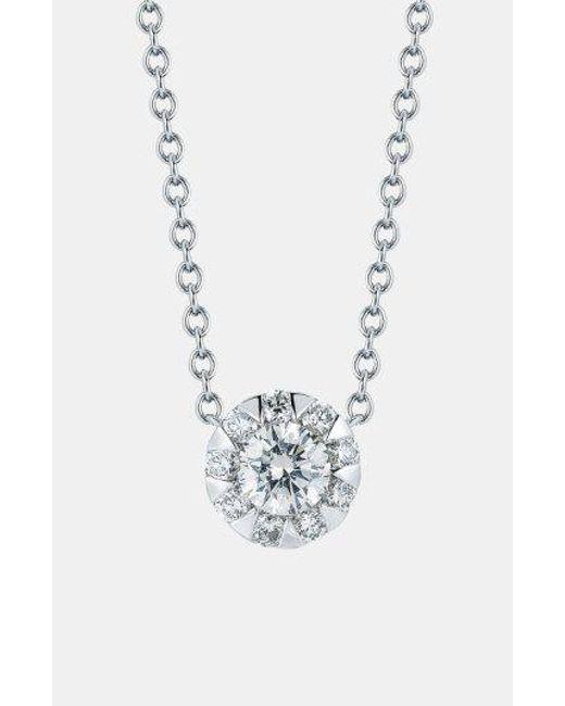 Kwiat - Metallic 'sunburst' Diamond Pendant Necklace - Lyst