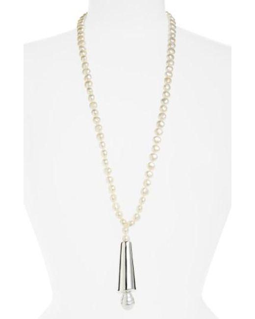 Simon Sebbag | Metallic Semiprecious Stone Strand Necklace | Lyst