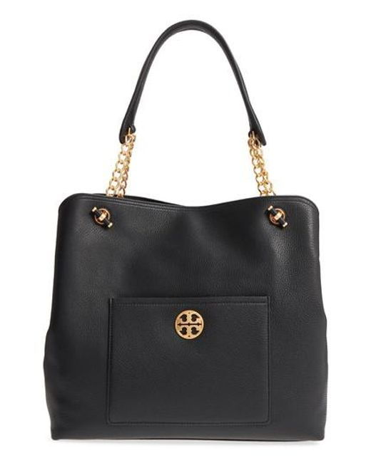 Tory Burch - Black Chelsea Slouchy Leather Tote - - Lyst