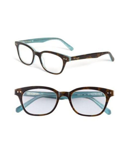 Kate Spade | Blue Rebecca 49mm Reading Glasses | Lyst