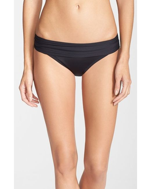 La Blanca | Black 'renew & Refresh' Hipster Bikini Bottoms | Lyst