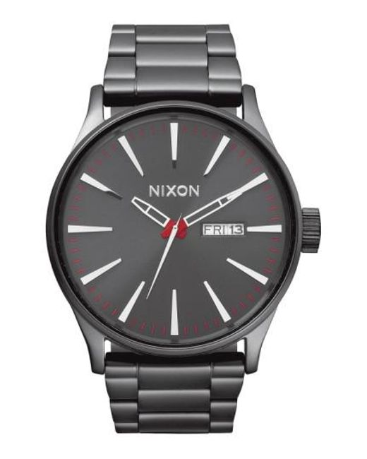 Nixon | Metallic Sentry Bracelet Watch | Lyst