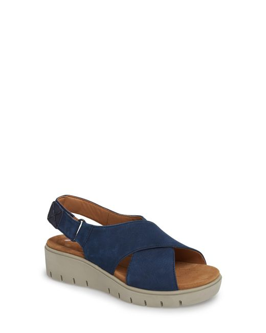 Clarks - Blue Clarks Unstructured By Clarks Karely Sandal - Lyst