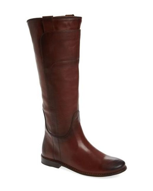 Frye   Brown Paige Tall Riding Boot for Men   Lyst
