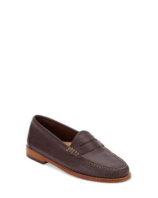 G.H. Bass & Co. | Black 'whitney' Loafer | Lyst