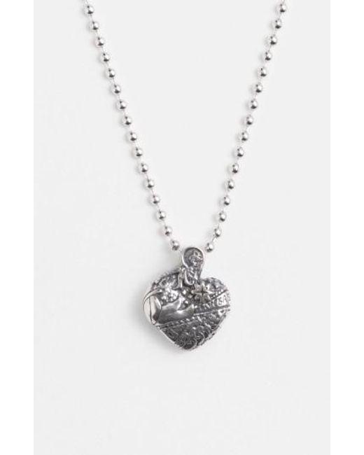 Lagos   Metallic 'hearts Of - Las Vegas' Reversible Pendant Necklace   Lyst