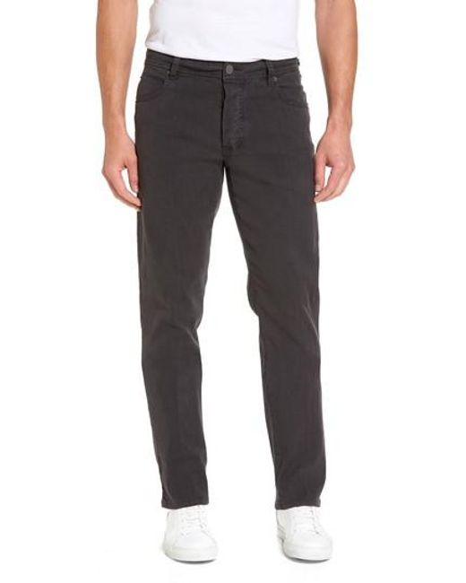 James Perse - Gray Straight Leg Five-pocket Pants for Men - Lyst