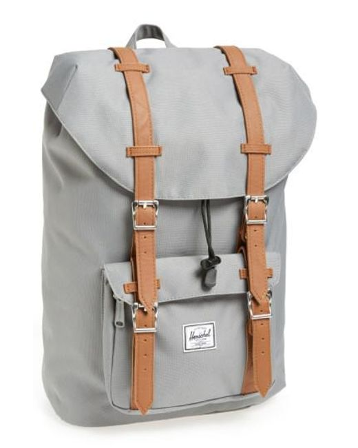 Herschel Supply Co. | Gray 'little America - Mid Volume' Backpack for Men | Lyst