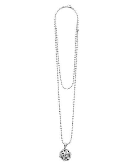 Lagos - Metallic Signature Gifts Knot Ball Pendant Necklace - Lyst