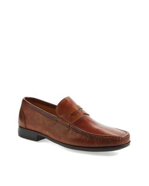 Magnanni Shoes | Brown 'ares' Penny Loafer for Men | Lyst