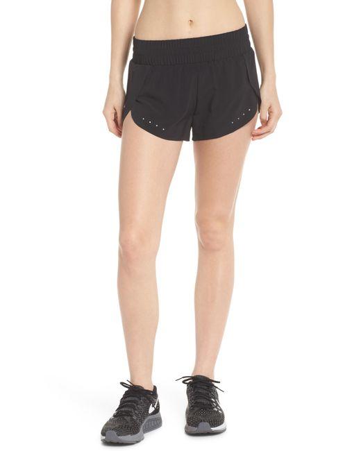 Zella - Black Run Play Shorts - Lyst