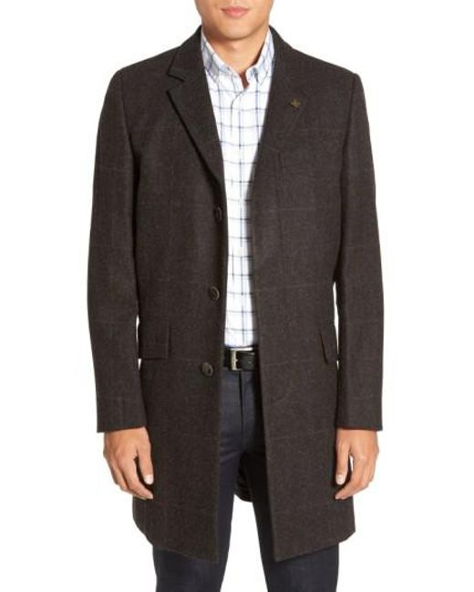 Vince Camuto | Black Plaid Hunting Jacket for Men | Lyst
