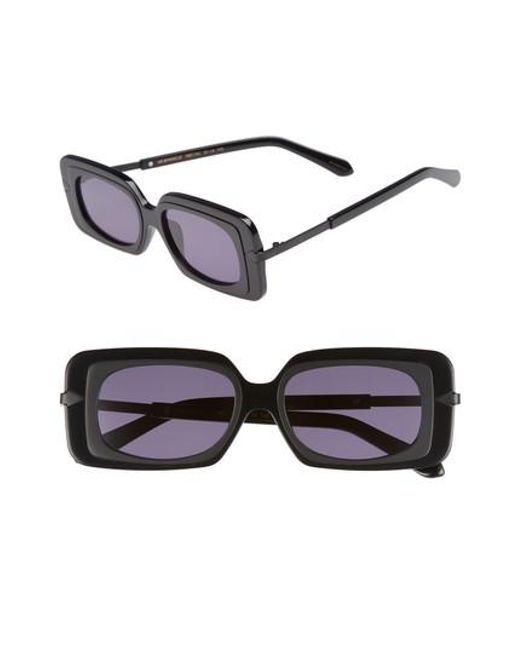 Karen Walker - Black Mr. Binnacle 51mm Sunglasses - - Lyst