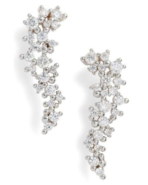Kendra Scott | Metallic Petunia Drop Earrings | Lyst