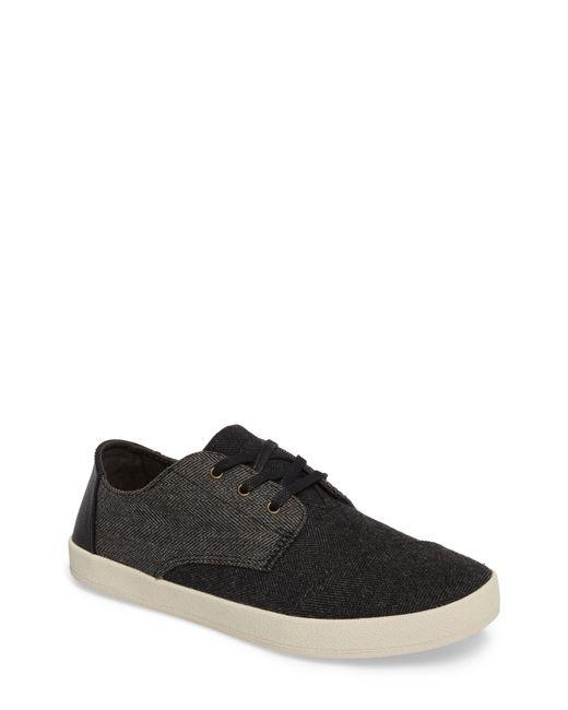 TOMS - Black 'paseo' Sneaker for Men - Lyst