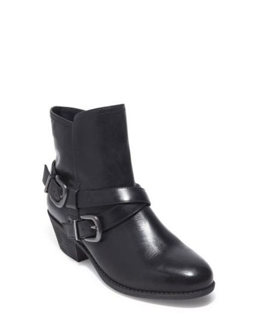 Me Too | Black Zuri Buckle Boot | Lyst