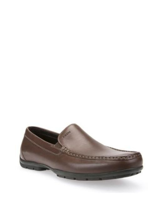 Geox | Brown 'monet' Driving Shoe for Men | Lyst