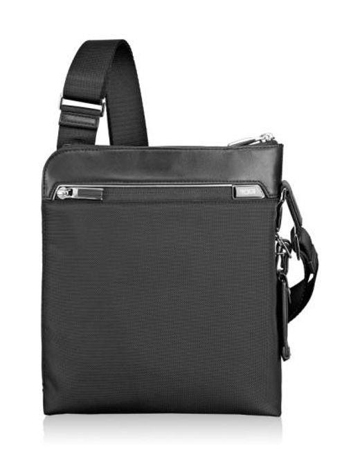 Tumi   Black 'Arrive - Owen' Crossbody Bag   Lyst