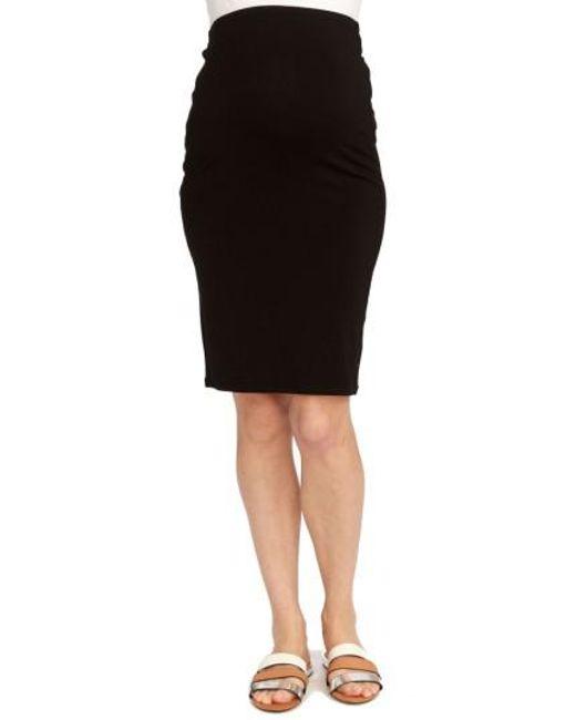 Rosie Pope | Black Adeline Maternity Skirt | Lyst