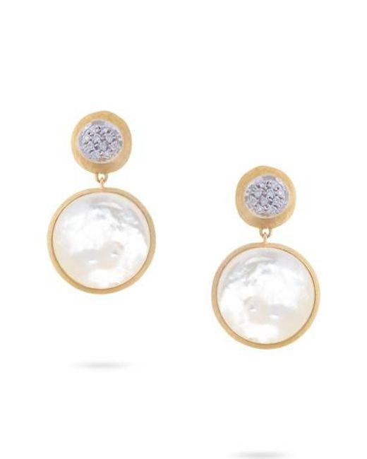 Marco Bicego - Metallic Jaipur Diamond Drop Earrings - Lyst