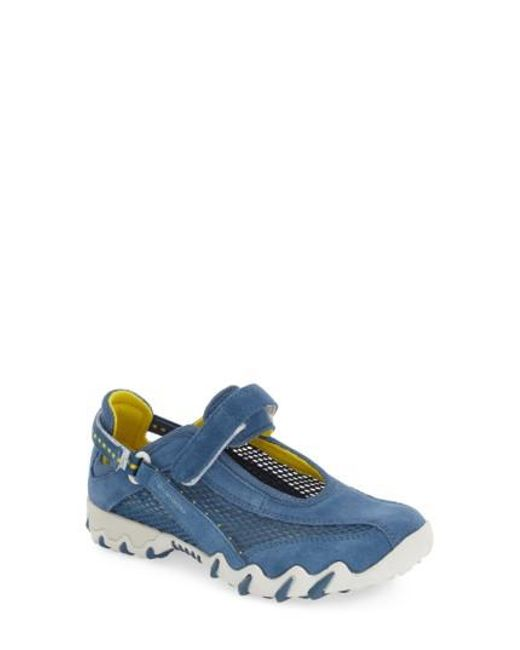 Allrounder By Mephisto - Blue 'niro' Athletic Shoe - Lyst