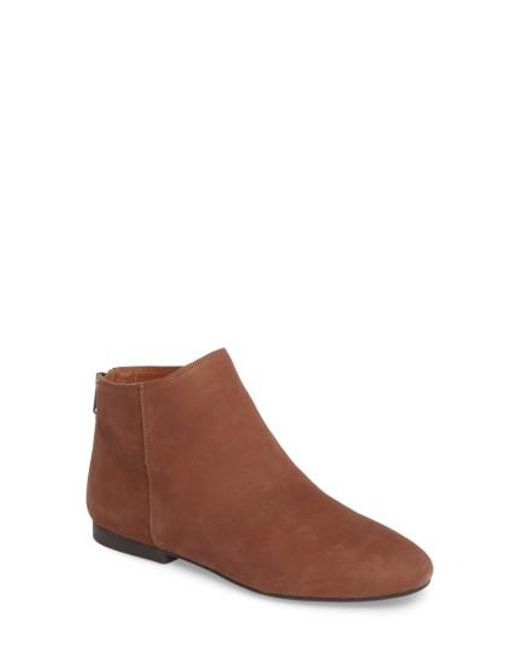 Lucky Brand | Brown Gaines Bootie | Lyst