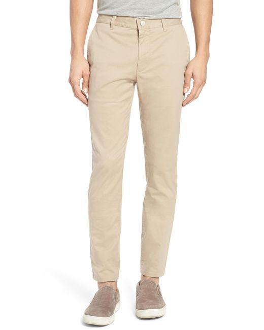 Bonobos - Natural Tailored Fit Washed Stretch Cotton Chinos for Men - Lyst