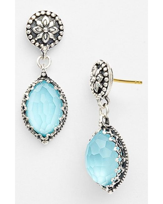 Konstantino | Blue 'aegean' Drop Earrings | Lyst