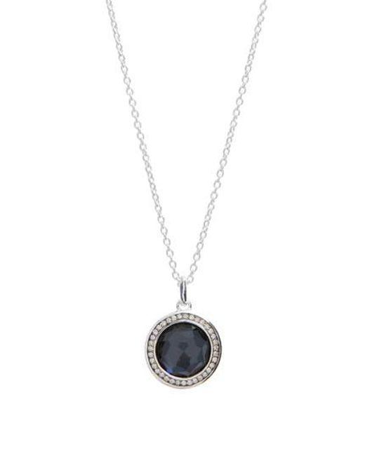 Ippolita | Metallic 'stella' Small Pendant Necklace | Lyst