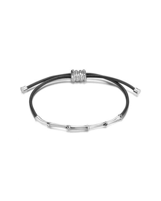 John Hardy | Metallic 'bamboo Themed' Slim Cord Bracelet | Lyst