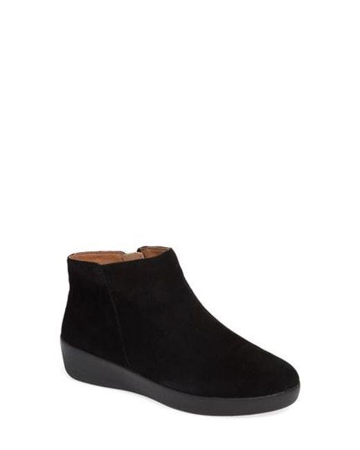 9d9615a7fe6f98 Lyst - Fitflop Sumi Sneaker in Black