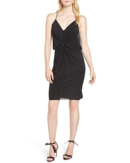 MISA - Black Domino Dress - Lyst