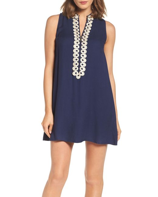 Lilly Pulitzer - Blue Lilly Pulitzer Jane Shift Dress - Lyst