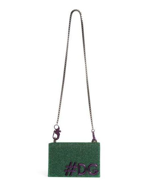 Dolce & Gabbana - Green Dg Girls Metallic Shoulder Bag - Lyst