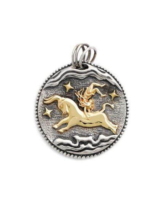 Konstantino - Metallic Zodiac Pendant - Lyst
