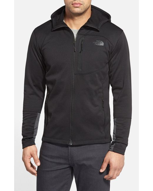 The North Face - Black 'canyonlands' Full Zip Hoodie for Men - Lyst