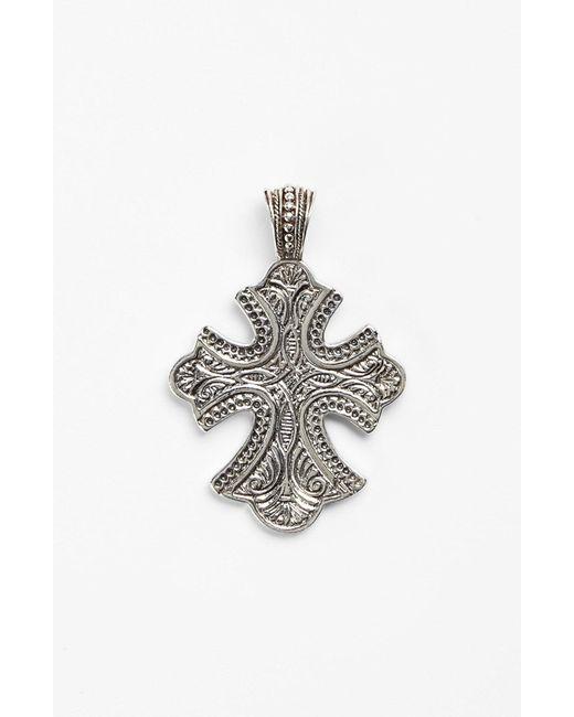 Konstantino - Metallic 'classics' Cross Pendant Necklace - Lyst