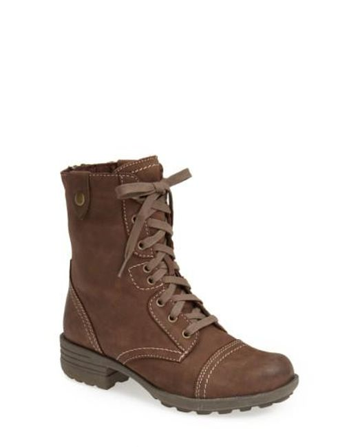 Cobb Hill | Brown Cobb Hill 'bethany' Boot | Lyst