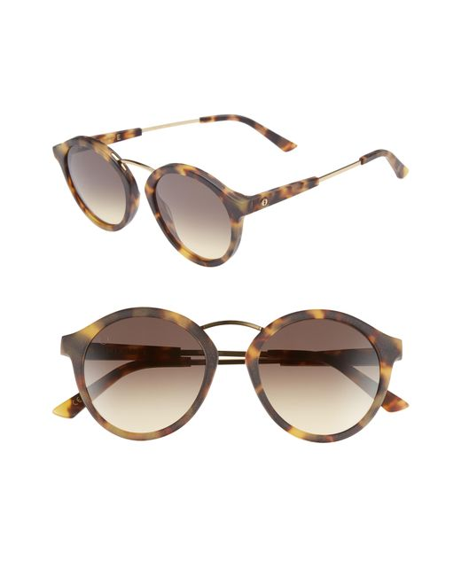 Electric - Black Mix Tape 52mm Mirrored Round Sunglasses - Lyst