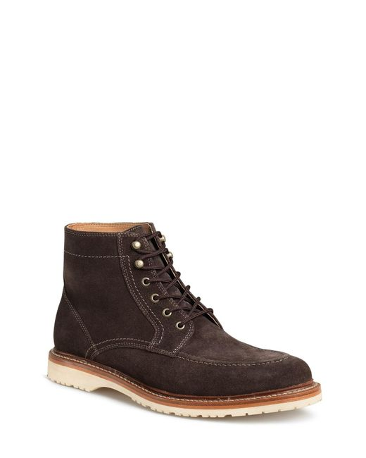Trask - Gray 'andrew Mid' Apron Toe Boot for Men - Lyst