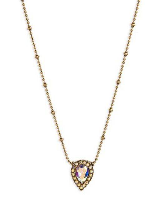 Loren Hope   Metallic Jamie Pendant Necklace   Lyst